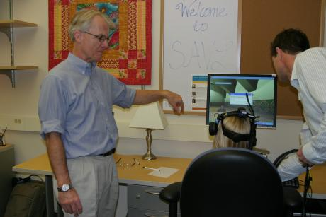 Image of Virtual Reality and Augmented Social Training for Autism