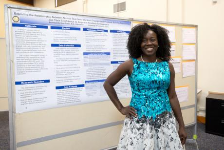 Image of GGE Research Poster Presentation