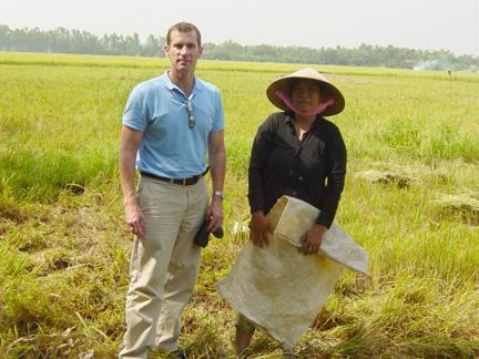 Image of Professor to Lead Project to Improve Agriculture in Vietnam and Cambodia