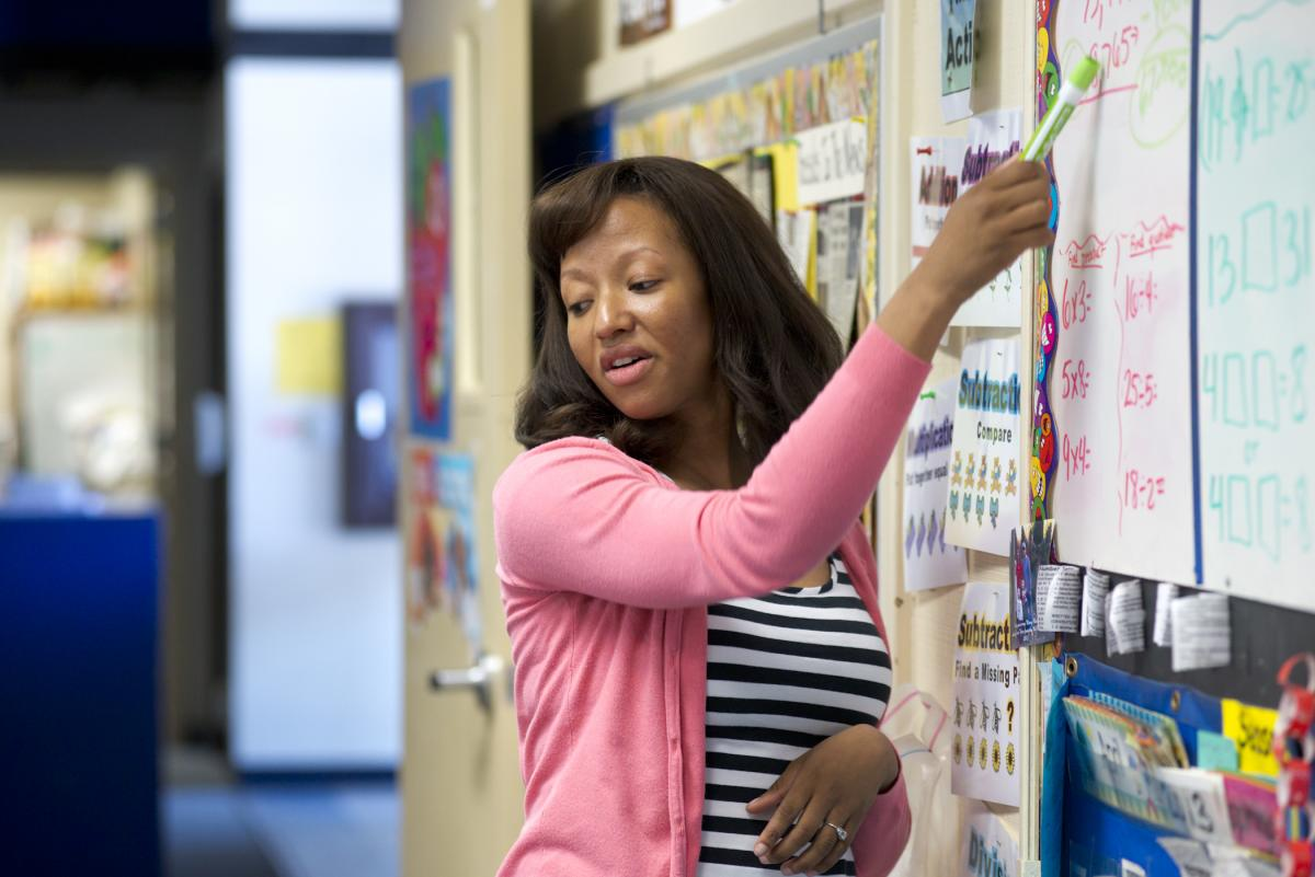 First Year Teaching Alumna Nominated For Award By Her