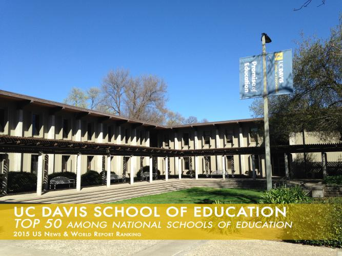 Image of School of Education Ranked Among Finest Schools in Country: 2015 US News & World Report Ranking
