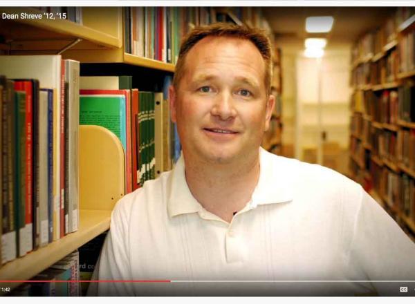 Image of Watch Alumni Dean Shreve's Story