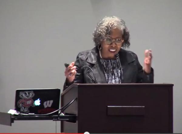 Image of Gloria Ladson-Billings on Hip Hop in Education