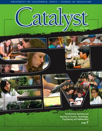 2010 Catalyst cover featuring STEM students