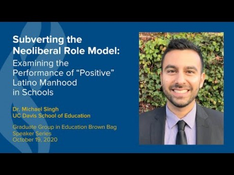 Michael Singh Presents on Subverting the Neoliberal Role Model