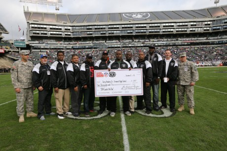 Image of West Contra Costa Unified School District Partner Announced Oakland Raiders Coach of the Week