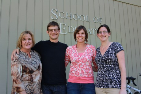 Image of Education Graduate Student Association Makes Gift to Power of 10 Scholarship Fund