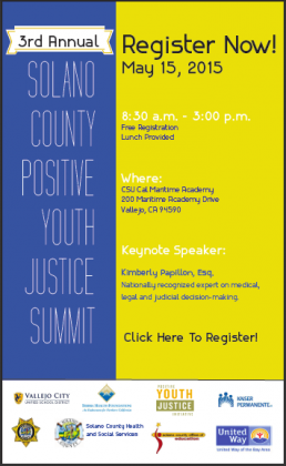 Image of 3rd Annual Solano County Positive Youth Justice Summit!