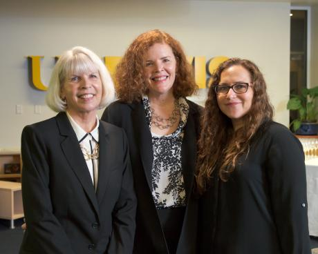 Wheelhouse Leadership: Debbie Travis, Susanna Cooper,  and Michal Kurlaender.