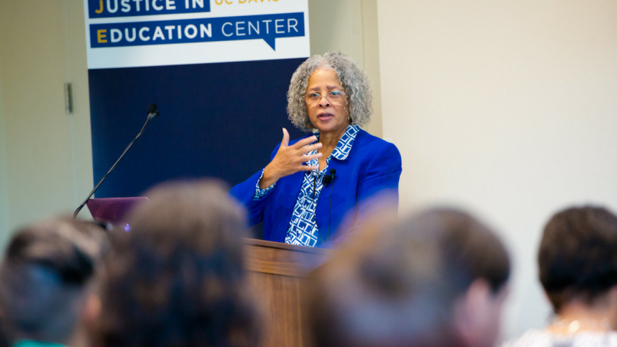 Transformative Justice in Education Featured Speaker, Dr. Carol D. Lee