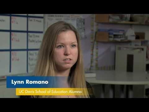 Alumna Lynn Romano Guardian Teacher Scholar