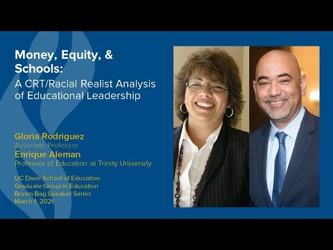 Dr. Rodriguez and Dr. Aleman Present on Money, Equity & Schools