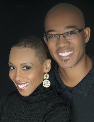 Portrait of Andrea and Brian Pinkney