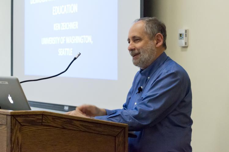 Distinguished Speaker: Ken Zeichner