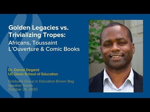Darnel Degand Presents on Golden Legacies vs. Trivializing Tropes